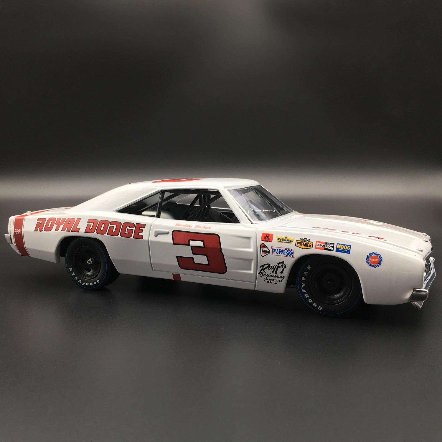 Buddy Baker 1969 Dodge Charger 500 1 24 University Of Racing
